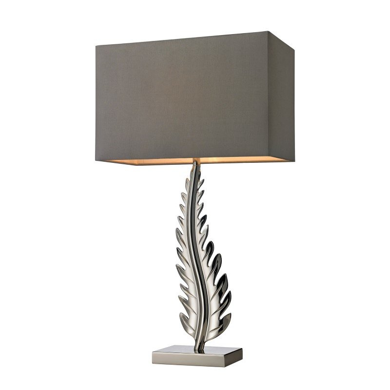 Dimond Lighting Oak Cliff Solid Brass Table Lamp in Polished Chrome (D2683)