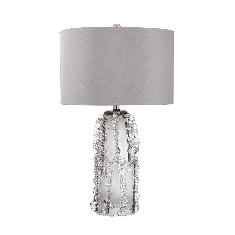 Dimond Lighting Palais 1 Light Table Lamp in Grey Smoke ( D2917)