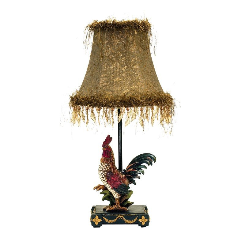 Dimond Lighting Petite Rooster Table Lamp in Ainsworth Finish (7-208)