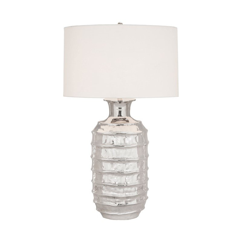 Dimond Lighting Plata 1 Light Table Lamp In Polished Nickel (8994-003)