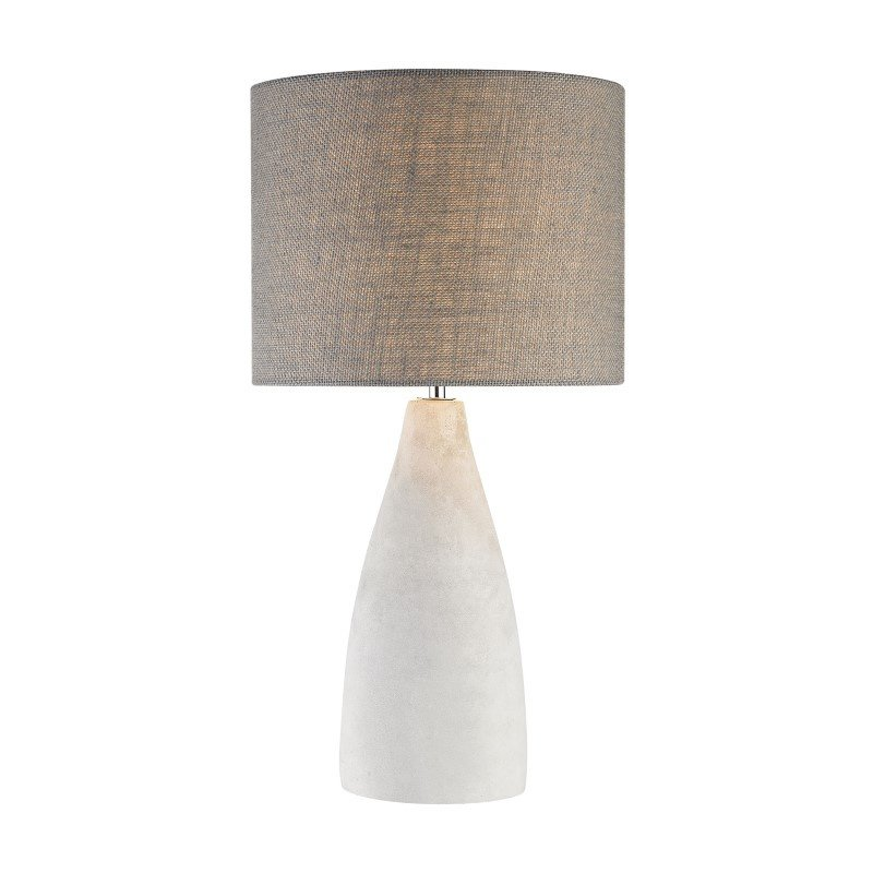 Dimond Lighting Rockport 1 Light Table Lamp In Polished Concrete (D2949)