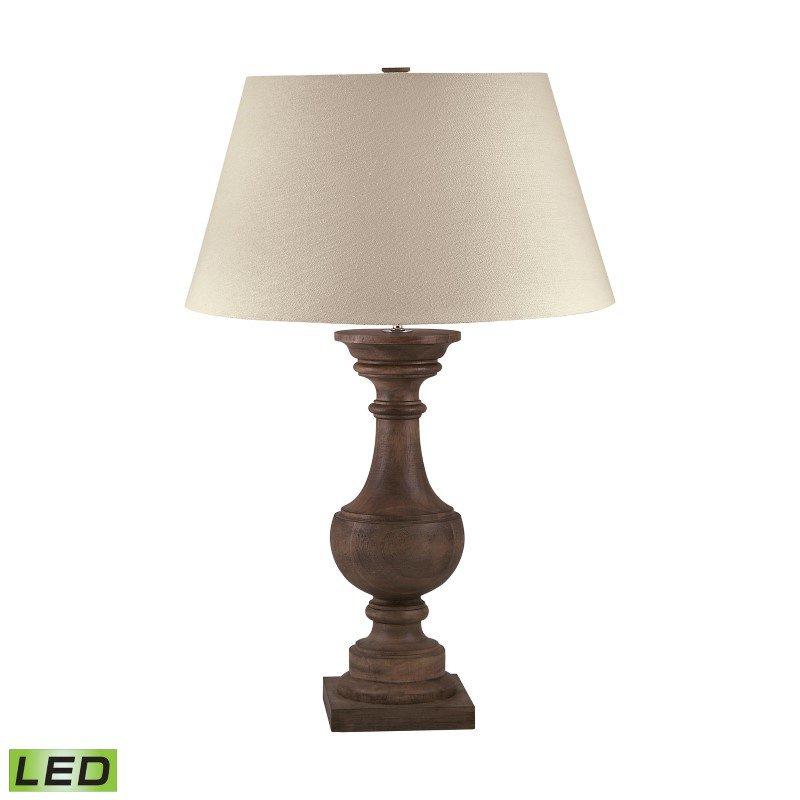 Dimond Lighting Solid Wood Balustrade LED Table Lamp ( 816-LED)