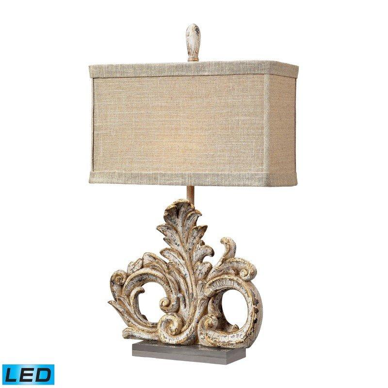 Dimond Lighting Springfield LED Table Lamp in Presidente Finish (93-10030-LED)