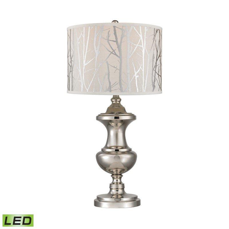 Dimond Lighting Spun Metal LED Lamp With Printed Shade (D2830-LED)