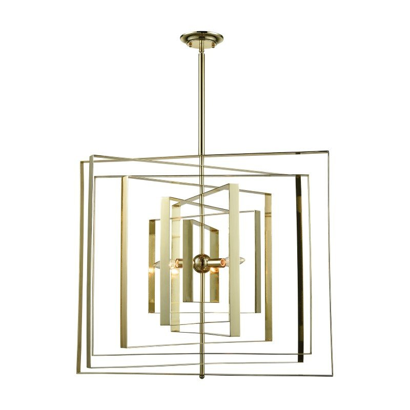 Dimond Lighting Synchrony Square Chandelier (D3151)