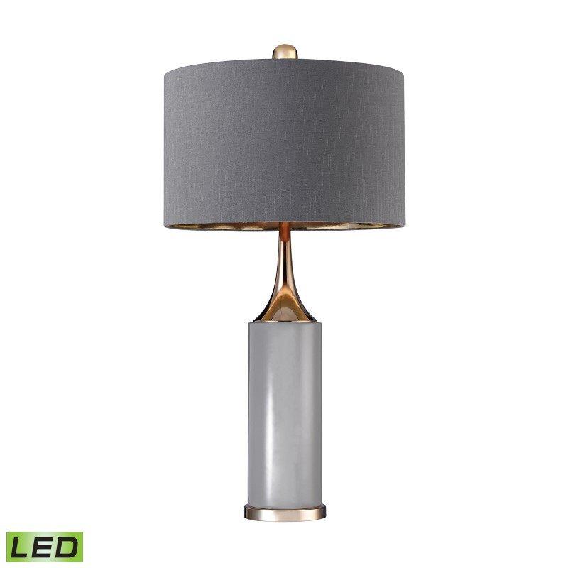Dimond Lighting Tall Gold Cone Neck LED Lamp (D2749-LED)
