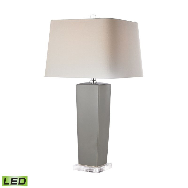 Dimond Lighting Tapered Grey Ceramic LED Lamp (D2827-LED)