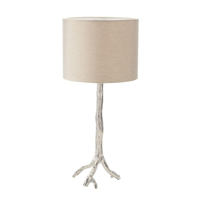 Dimond Lighting Tree Branch Table Lamp in Nickel (468-022)