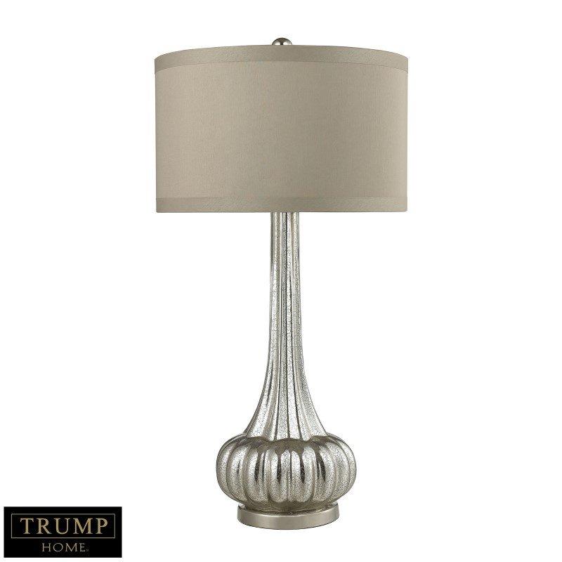 Dimond Lighting Trump Home Stem Neck Table Lamp In Antique Mercury Glass (D2572)