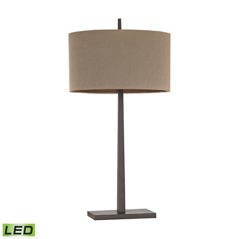 Dimond Lighting Wheatstone 1 Light LED Table Lamp in Bronze ( D2914-LED)