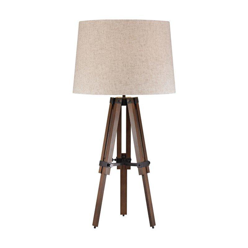 Dimond Lighting Wooden Brace Tripod Lamp (D2816)