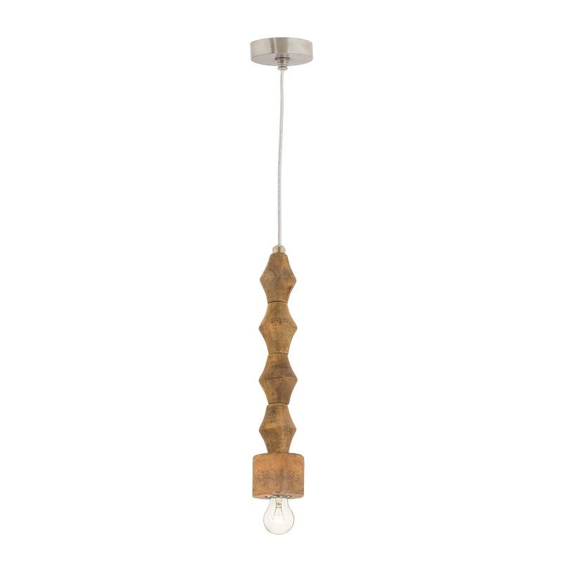 Dimond Lighting Wooden Spindle Pendant Lamp (8985-056)