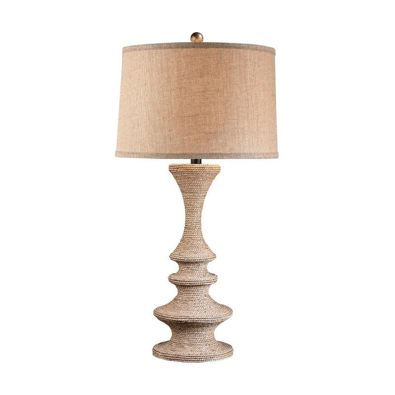 Dimond Lighting Wrapped Rope Table Lamp (D2794)
