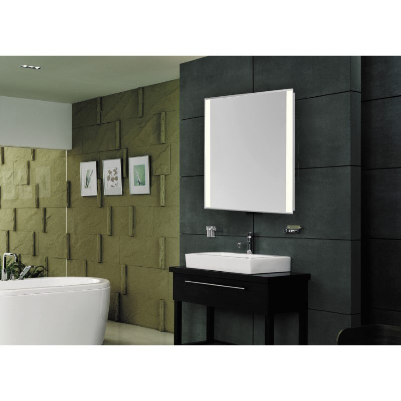 Elegant Decor 2 Sides LED Edge Hardwired Mirror Rectangle W24H40 Dimmable 3000K (MRE-6214)