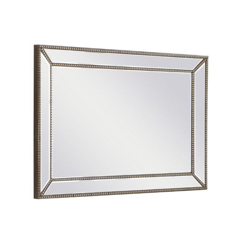 Elegant Decor 23.5 Inch Rectangle Mirror in Clear Finish (MR9172)