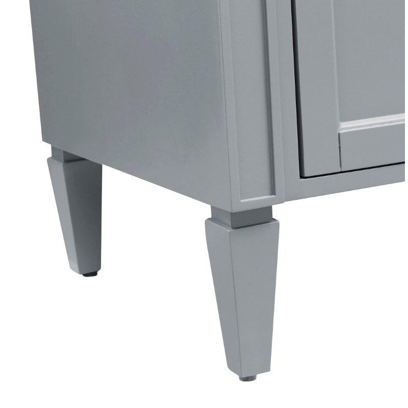 Elegant Decor 24 in. Single Bathroom Vanity Set in Grey (VF-1027)