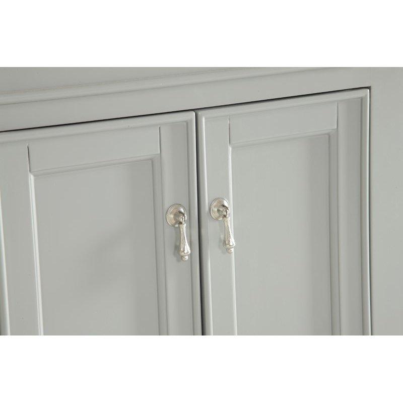 Elegant Decor 24 in. Single Bathroom Vanity Set in Light Grey (VF12324GR)