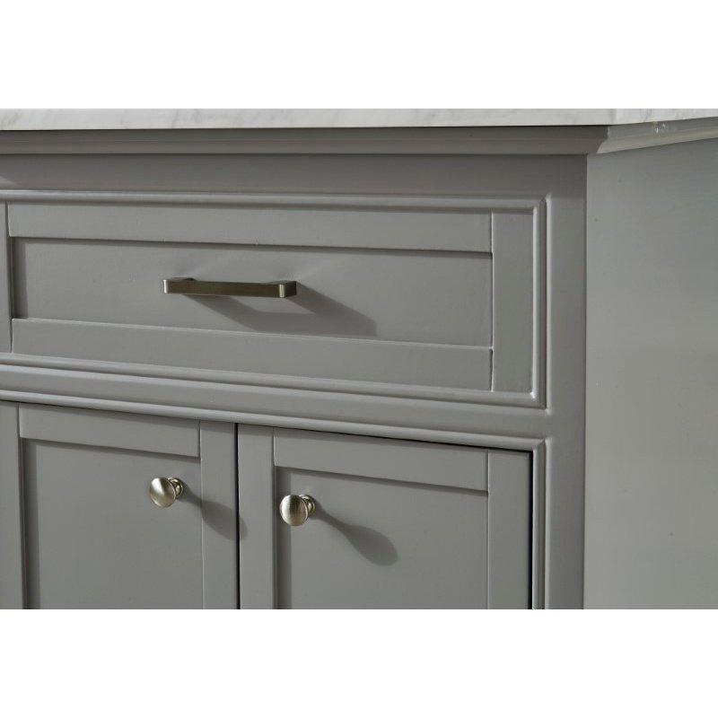 Elegant Decor 24 in. Single Bathroom Vanity Set in Light Grey (VF15024GR)