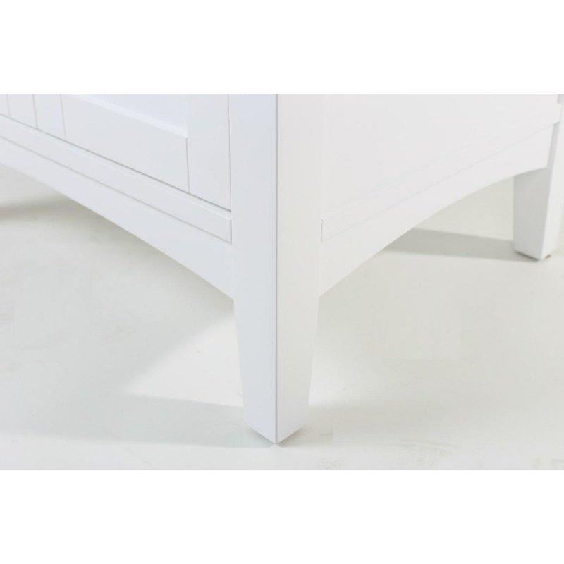Elegant Decor 24 in. Single Bathroom Vanity Set in White (VF-2003)