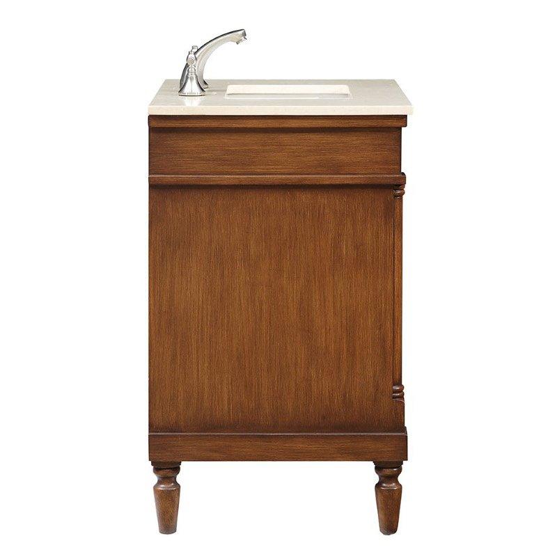 Elegant Decor 30 in. Single Bathroom Vanity Set in Brown (VF-1030)