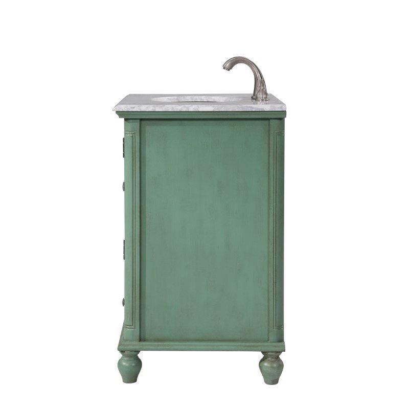 Elegant Decor 30 In.Single Bathroom Vanity Set in Vintage Mint (VF30530VM)