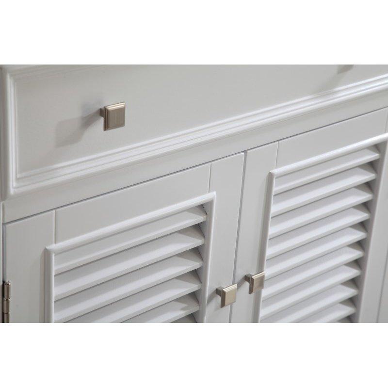 Elegant Decor 30 in. Single Bathroom Vanity Set in White (VF-1004)