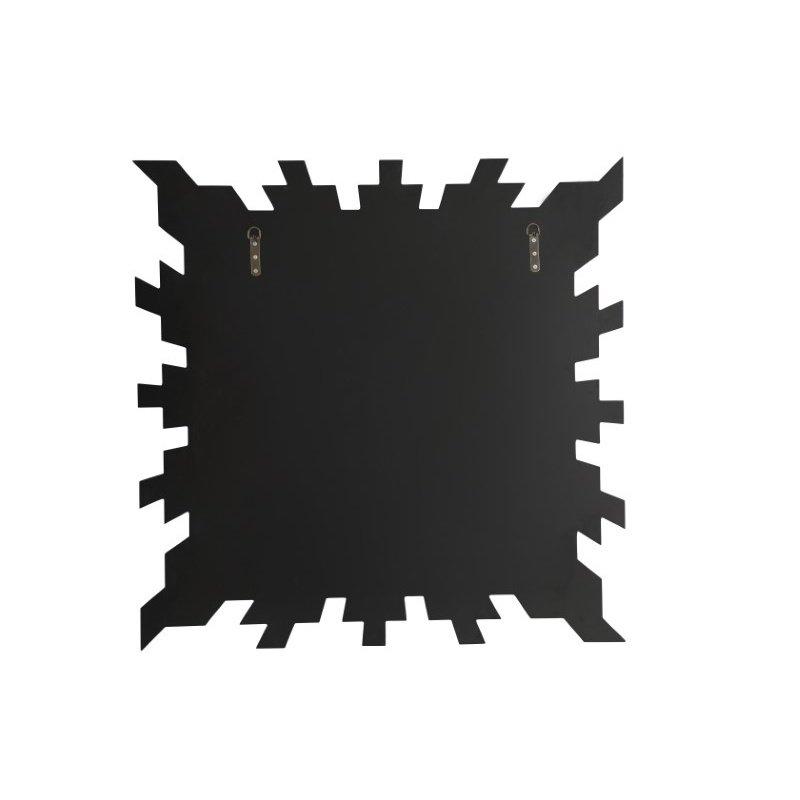 Elegant Decor 35.5 Inch Square Mirror in Clear Finish (MR9171)
