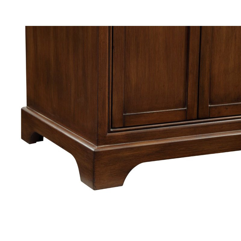 Elegant Decor 36 in. Single Bathroom Vanity Set in Teak (VF15036TK)