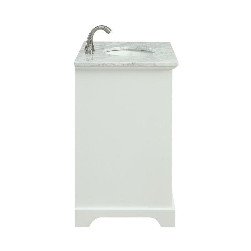 Elegant Decor 36 in. Single Bathroom Vanity Set in White (VF15036WH)
