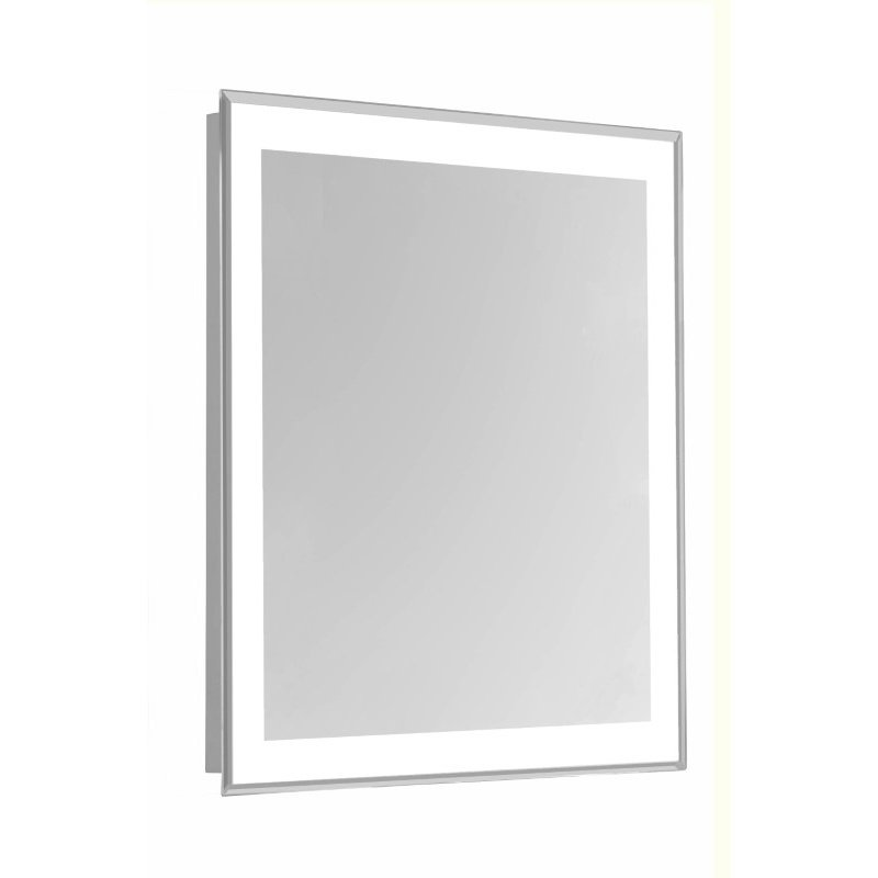 Elegant Decor 4 Sides LED Edge Hardwired Mirror Rectangle W24H40 Dimmable 5000K (MRE-6104)