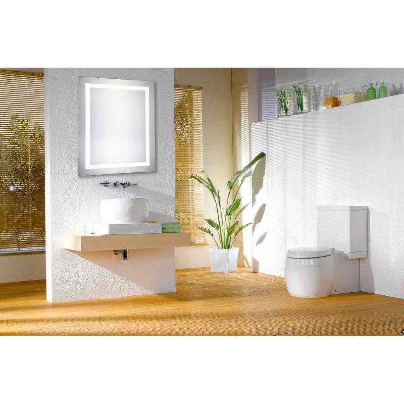 Elegant Decor 4 Sides LED Hardwired Mirror Rectangle W32H40 Dimmable 5000K (MRE-6031)