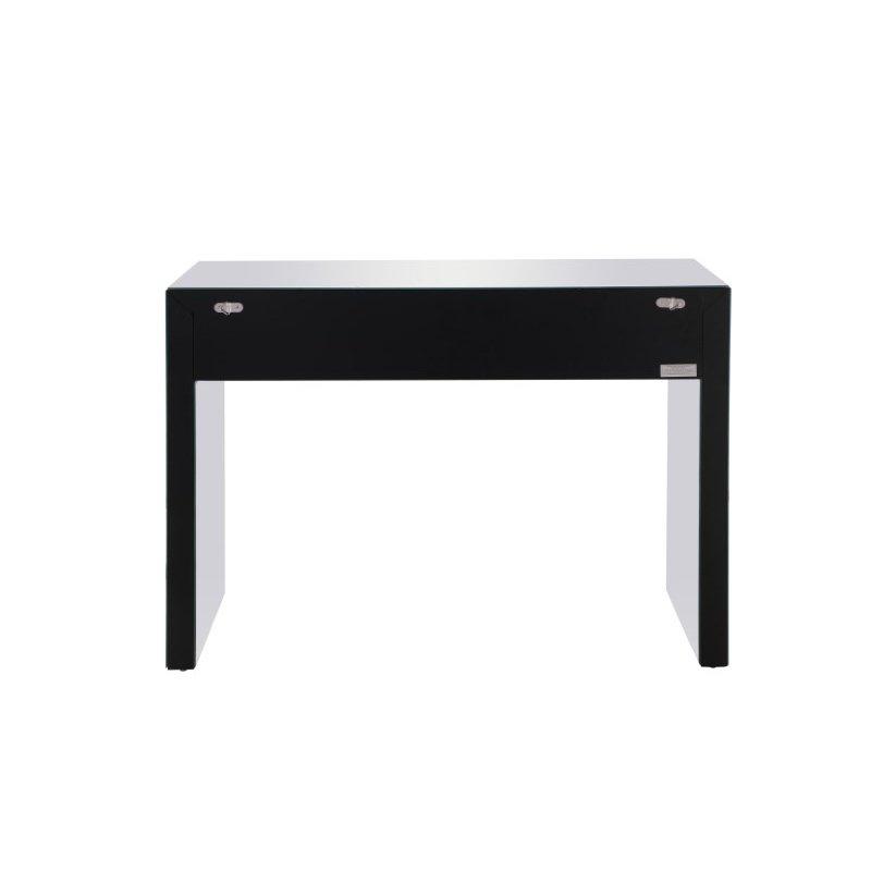 Elegant Decor 43.5 inch Rectangle Crystal Desk Silver Royal Cut Crystal (MF92012)