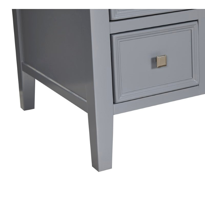 Elegant Decor 48 in. Single Bathroom Vanity Set in Grey (VF10448GR)