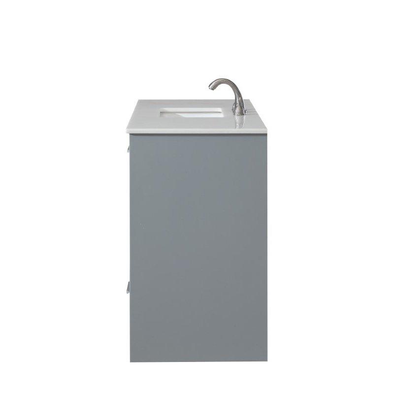 Elegant Decor 48 in. Single Bathroom Vanity Set in Grey (VF12848GR)