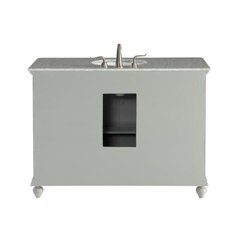 Elegant Decor 48 in. Single Bathroom Vanity Set in Light Grey (VF12348GR)