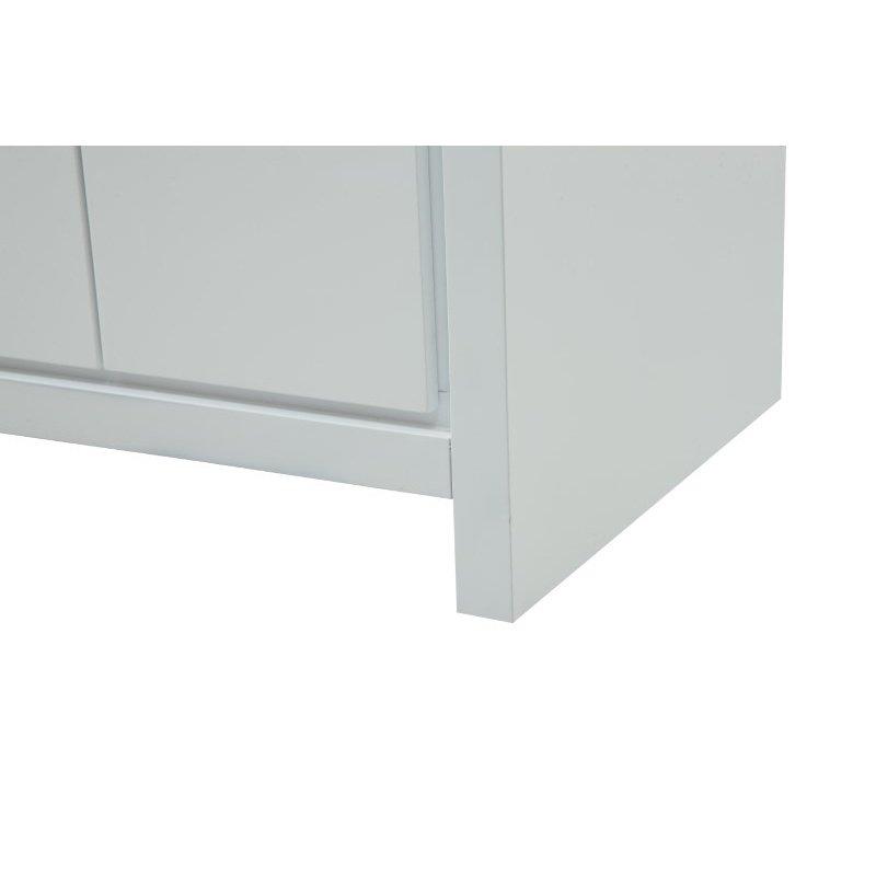 Elegant Decor 60 in. Double Bathroom Vanity Set in White (VF12860DWH)