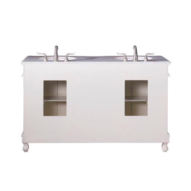 Elegant Decor 60 in. Double Bathroom Vanity (VF-1049)