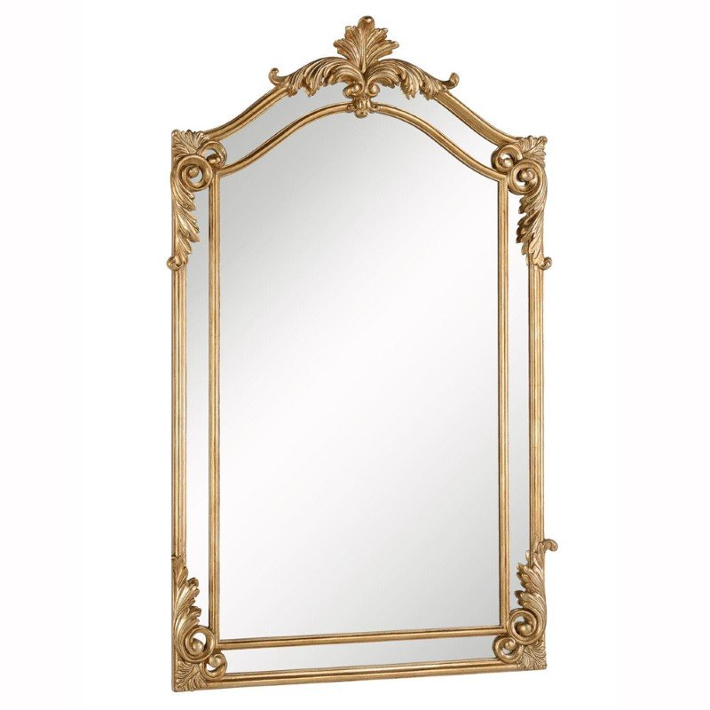 Elegant Decor Antique 30 in. Contemporary Mirror in Antique gold leaf (MR-3342)