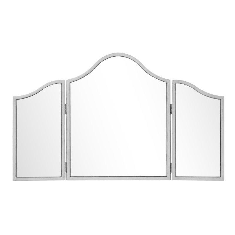 Elegant Decor Chamberlan 39 in. Contemporary Mirror in Silver (MF6-1005S)