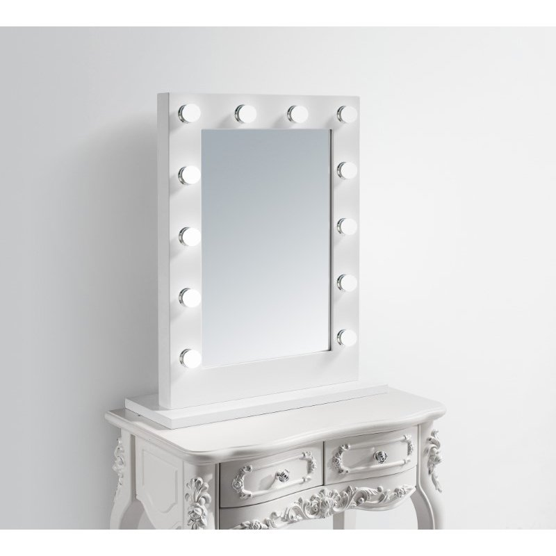 Elegant Decor Hollywood Vanity Mirror 3000K W27.5 H32.5 (MRE8503K)