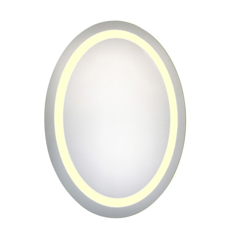 Elegant Decor LED Hardwired Mirror Oval W23H30 Dimmable 3000K (MRE-6019)
