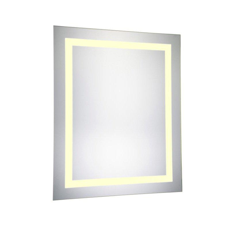 Elegant Decor LED Hardwired Mirror Rectangle W24H30 Dimmable 3000K (MRE-6013)