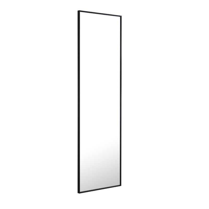 Elegant Decor Metal frame Rectangle Mirror 18 inch Black (MR4081BK)