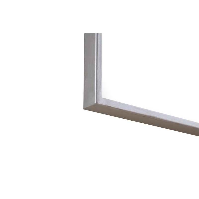 Elegant Decor Metal frame Rectangle Mirror 18 inch Silver (MR4083S)
