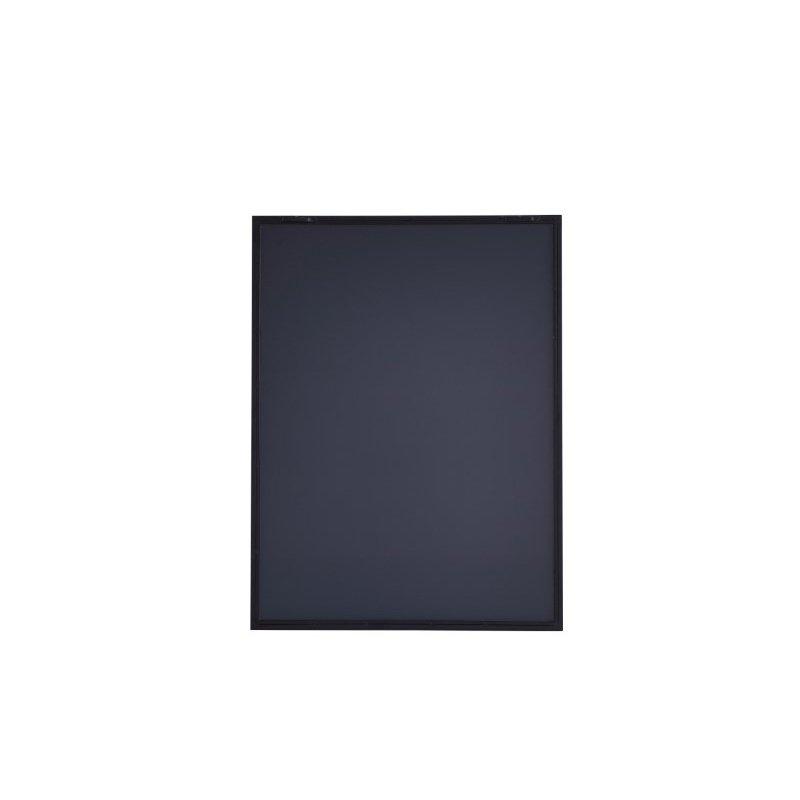 Elegant Decor Metal frame Rectangle Mirror 24 inch Black finish (MR4071BK)
