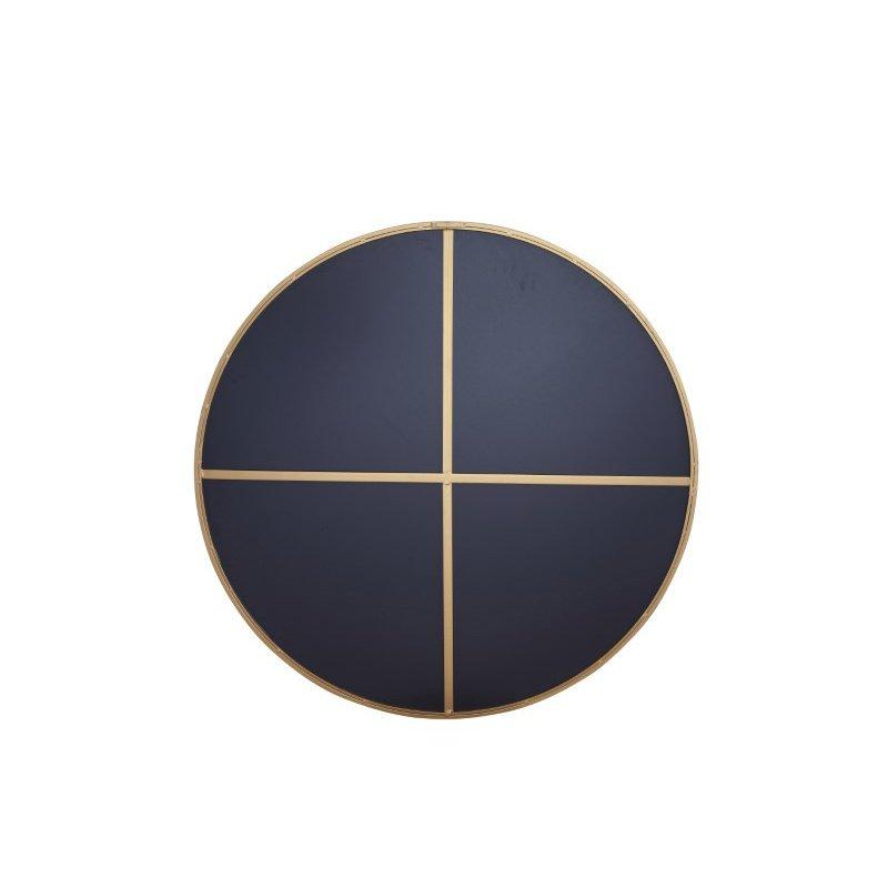 Elegant Decor Metal frame Round Mirror 42 inch Brass finish (MR4045BR)