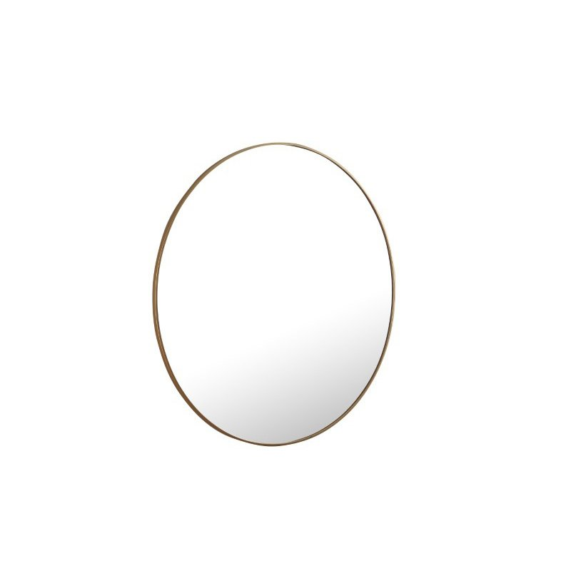 Elegant Decor Metal frame Round Mirror 48 inch Brass finish (MR4048BR)
