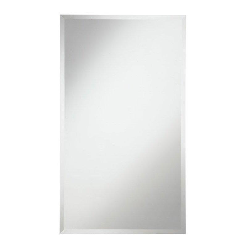 Elegant Decor Modern 22 in. Contemporary Mirror in Clear (MR-4020)