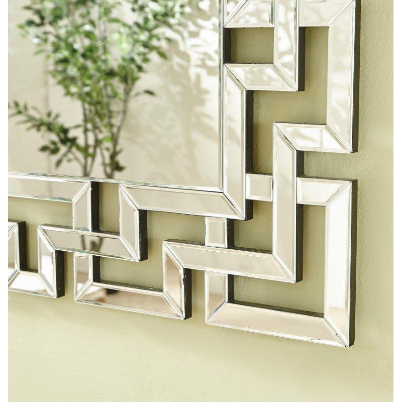 Elegant Decor Sparkle 37.5 in. Contemporary Rectangle Mirror in Clear (MR9152)