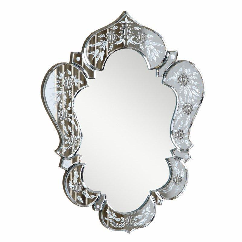 Elegant Decor Venetian 20.7 in. Transitional Mirror in Clear (MR-2011C)